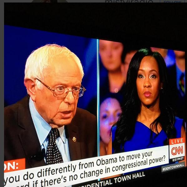 Misty Jordan:Bernie Sanders